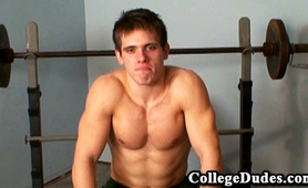 Working Out in the Gym - College Dudes
