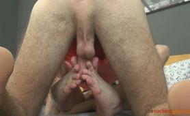 Toe Sucking Guys - Dreamboy and Tristan
