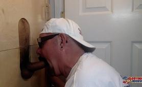 Sucking Latin Cock At The Gloryhole