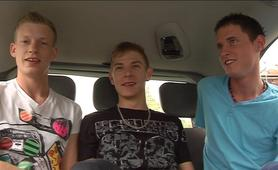 Mark Lloyd, Justin Baber and Mark Henley