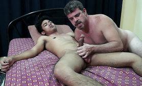 Daddy And Kris Bareback